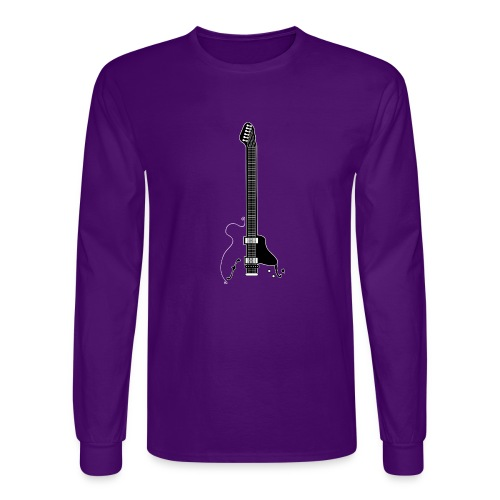 Electric Guitar - Men's Long Sleeve T-Shirt