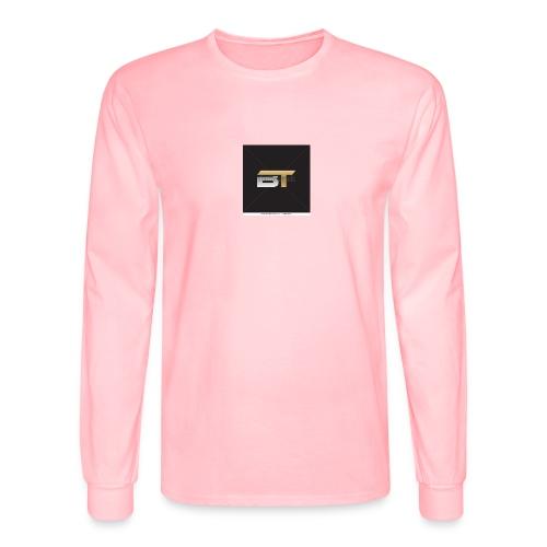BT logo golden - Men's Long Sleeve T-Shirt