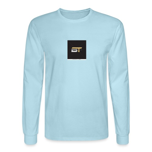 BT logo golden - Men's Long Sleeve T-Shirt