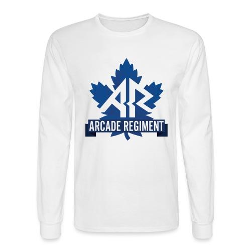 Arcade Regiment logo 2018 - Men's Long Sleeve T-Shirt