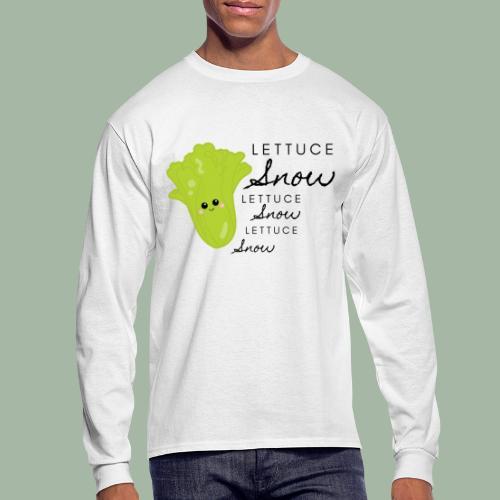 Lettuce Snow - Men's Long Sleeve T-Shirt