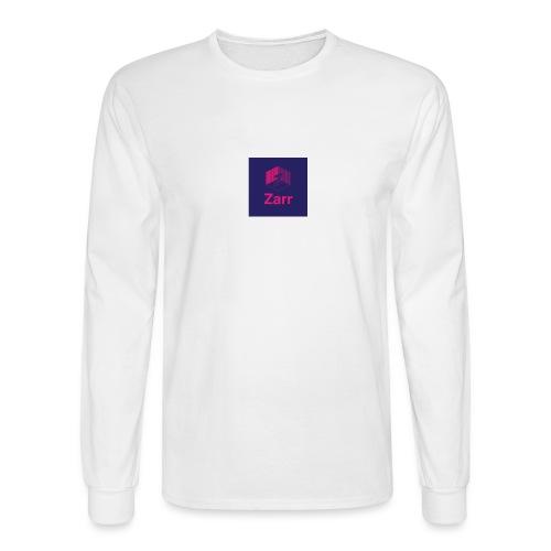 Zarr Logo - Men's Long Sleeve T-Shirt