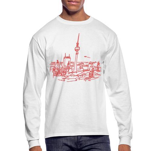 Panorama of Berlin - Men's Long Sleeve T-Shirt