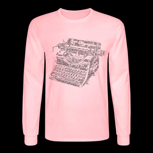 Typewritten Logophile - Men's Long Sleeve T-Shirt