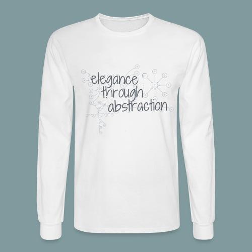 Elegance through Abstraction - Men's Long Sleeve T-Shirt