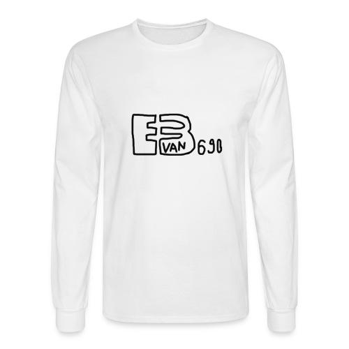 Evan3690 Logo - Men's Long Sleeve T-Shirt