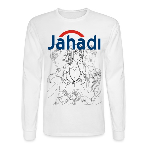 HADIBITCHES - Men's Long Sleeve T-Shirt