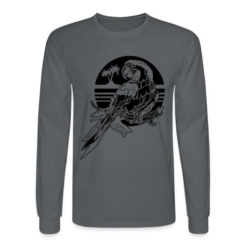 Tropical Parrot - Men's Long Sleeve T-Shirt