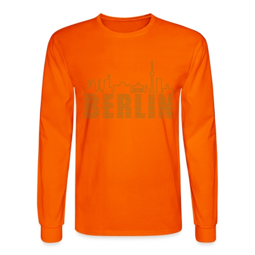 Skyline of Berlin - Men's Long Sleeve T-Shirt