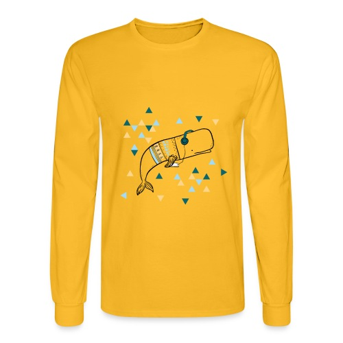 Music Whale - Men's Long Sleeve T-Shirt