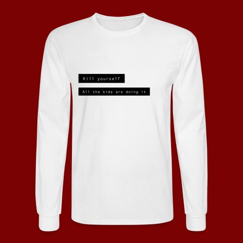 Peer Pressure - Men's Long Sleeve T-Shirt