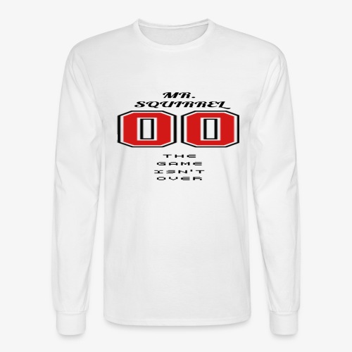 The game isn't over - Men's Long Sleeve T-Shirt