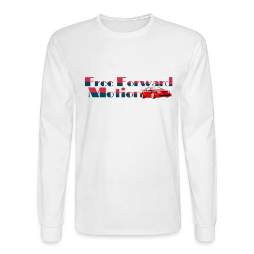Free Forward Motion - Men's Long Sleeve T-Shirt