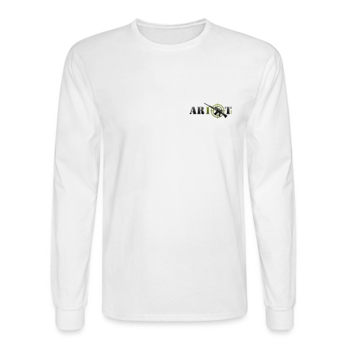 ar10tlogo - Men's Long Sleeve T-Shirt