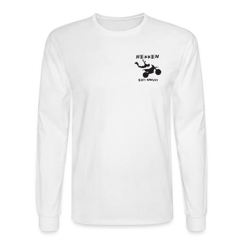 Hekken Moto Est Black L - Men's Long Sleeve T-Shirt