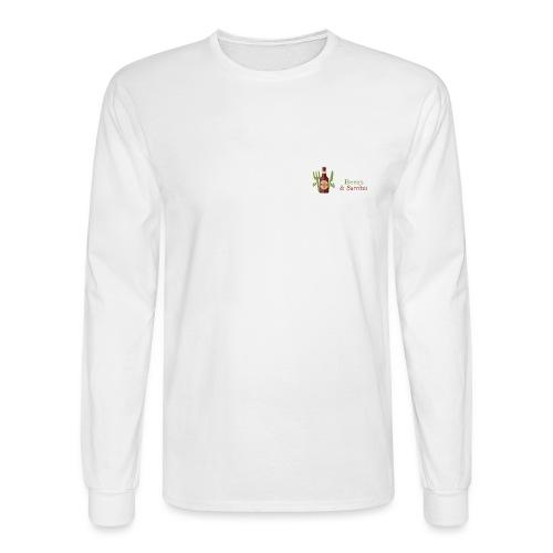 Beers & Burritos Logo - Men's Long Sleeve T-Shirt
