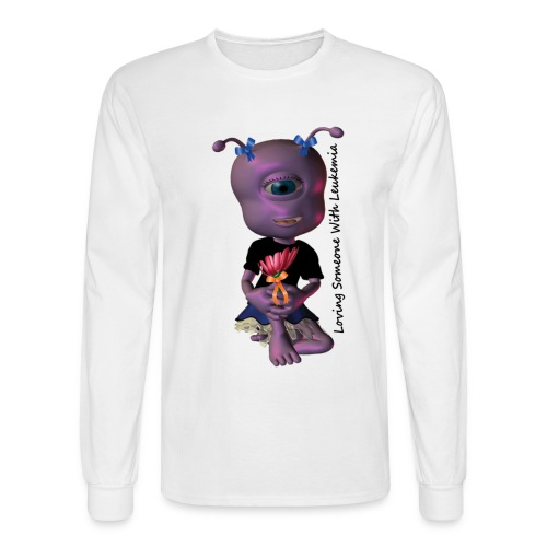 rissa purple - Men's Long Sleeve T-Shirt
