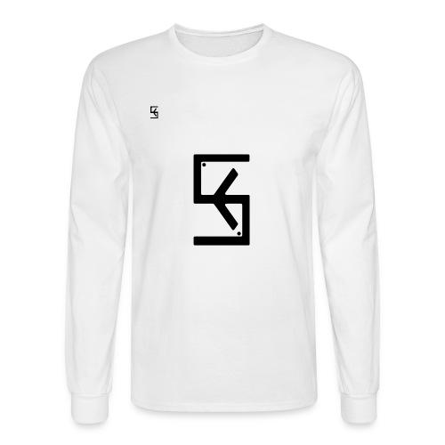Soft Kore Logo Black - Men's Long Sleeve T-Shirt