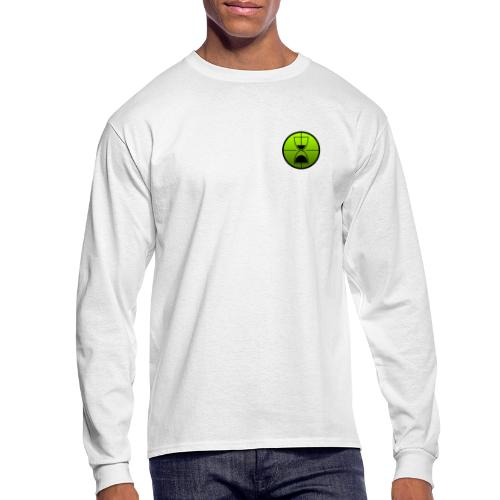 TimeShot Emblem - Men's Long Sleeve T-Shirt