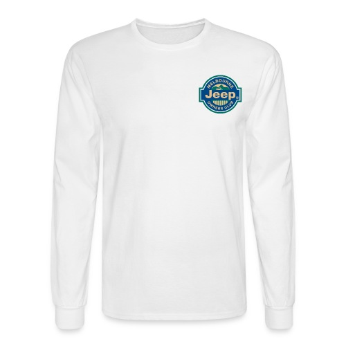 MJOC color logo - Men's Long Sleeve T-Shirt