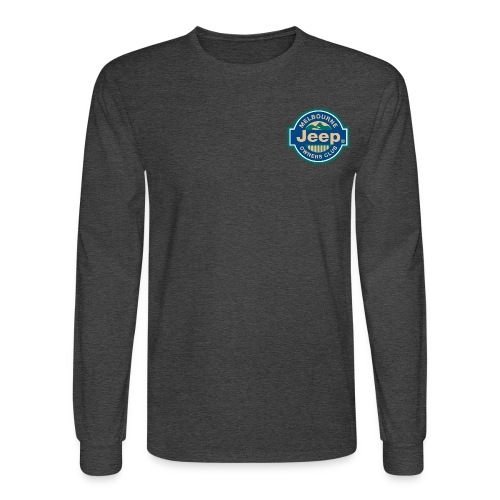MJOC color logo - Men's Long Sleeve T-Shirt