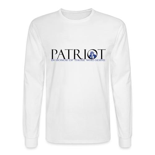 PATRIOT_SAM_USA_LOGO - Men's Long Sleeve T-Shirt