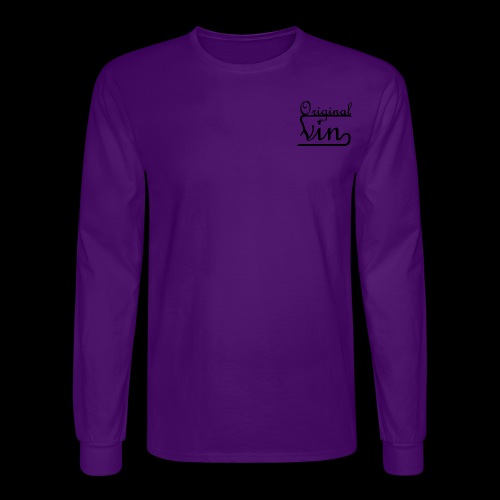 Vin Orignal Black png - Men's Long Sleeve T-Shirt
