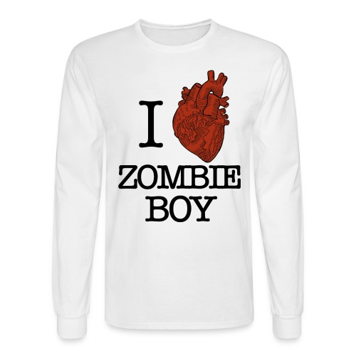 heart2 notxt - Men's Long Sleeve T-Shirt