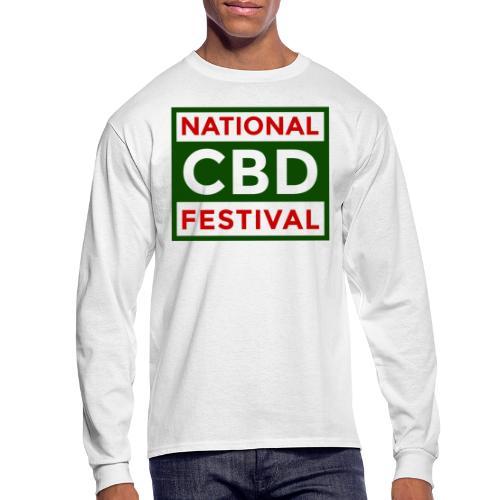 NCBDF Logo - Men's Long Sleeve T-Shirt