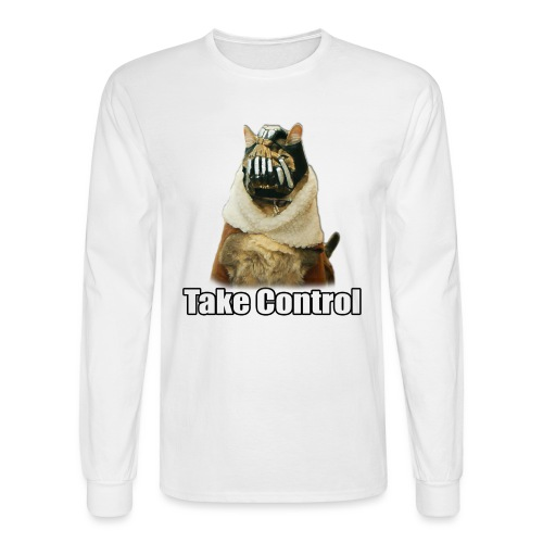 banecat shirt 1 png - Men's Long Sleeve T-Shirt