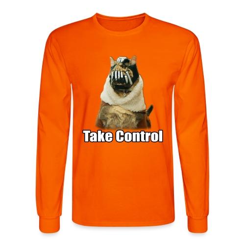 banecat shirt 1 png - Men's Long Sleeve T-Shirt