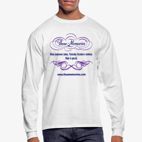 Those Memories Logo - Men's Long Sleeve T-Shirt