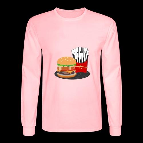 Fast Food Rocks - Men's Long Sleeve T-Shirt