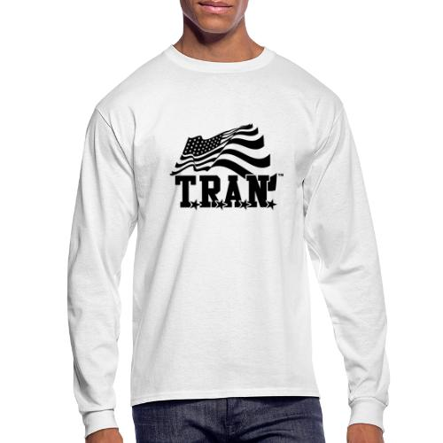 New Tran Logo Transparent png - Men's Long Sleeve T-Shirt