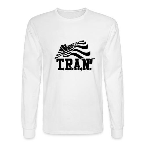 New Tran Logo Transparent png - Men's Long Sleeve T-Shirt
