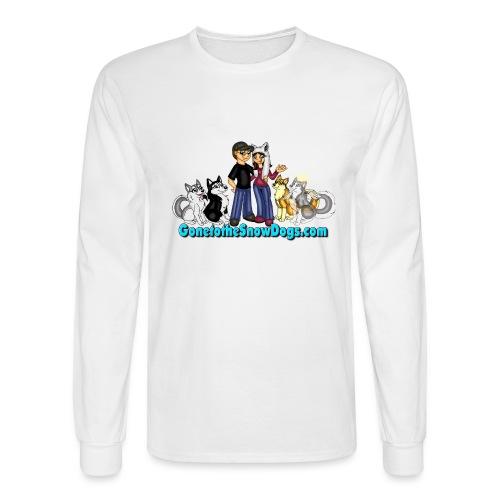 Snow Dogs Vlogs Logo - Men's Long Sleeve T-Shirt
