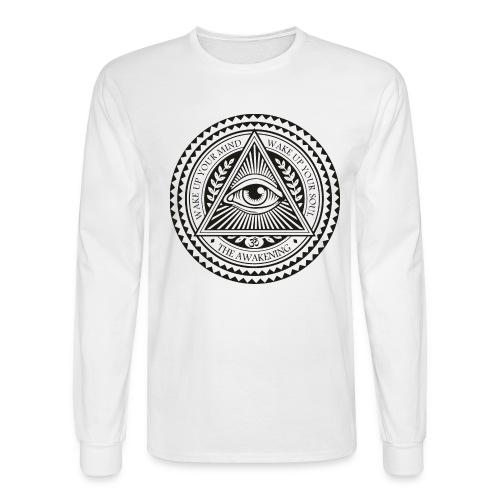 all seeing eye logo png - Men's Long Sleeve T-Shirt