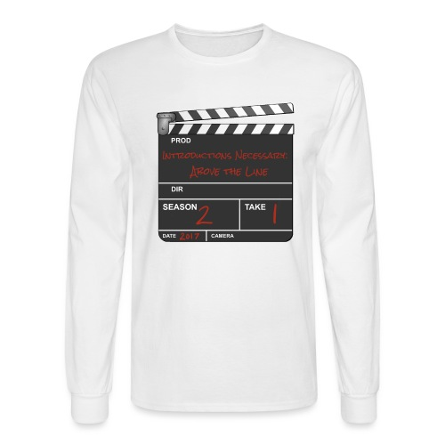 IN: Above The Line Logo - Men's Long Sleeve T-Shirt