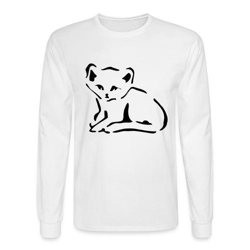 Kitty Cat - Men's Long Sleeve T-Shirt