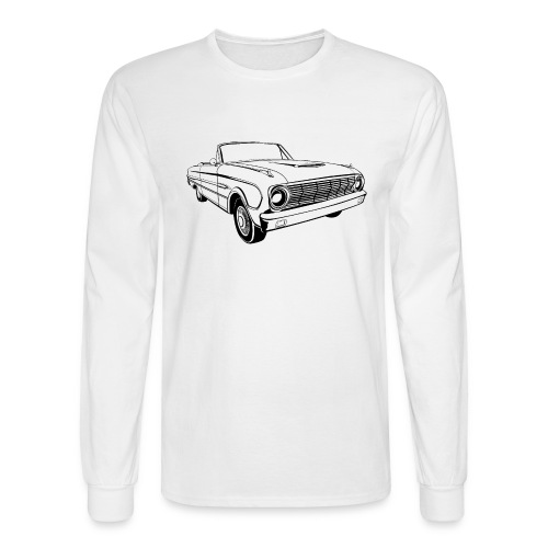 63 Ford Falcon Sprint Conv Men's T-Shirt - Men's Long Sleeve T-Shirt