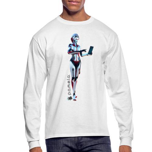 P.A.M.E.L.A. SecRT - Men's Long Sleeve T-Shirt