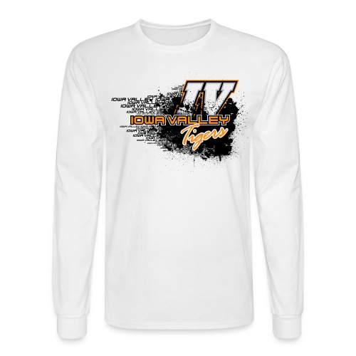 IV Grunge Design - Men's Long Sleeve T-Shirt
