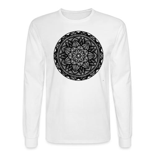 Circle No.2 - Men's Long Sleeve T-Shirt
