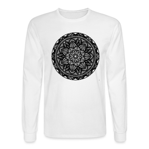 Circle No.2 - Men's Long Sleeve T-Shirt