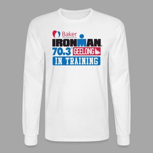 70.3 Geelong - Men's Long Sleeve T-Shirt