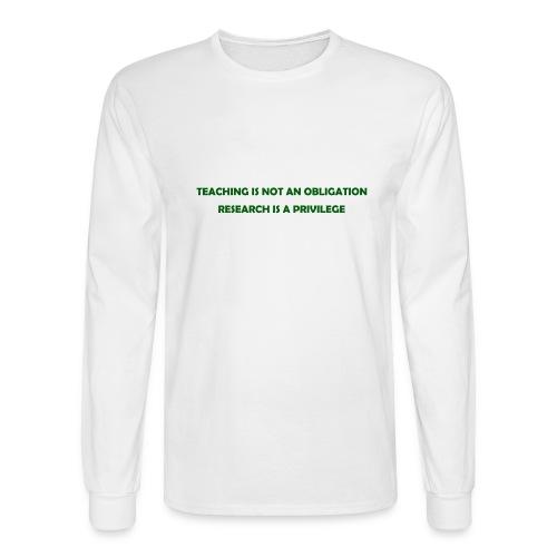 Teaching - Men's Long Sleeve T-Shirt