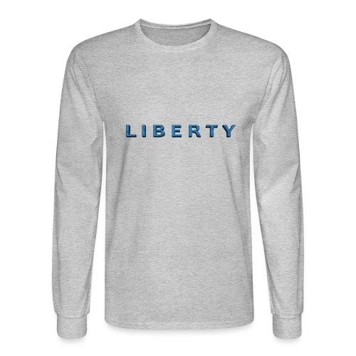 Liberty Libertarian Design - Men's Long Sleeve T-Shirt
