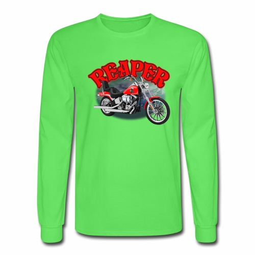 Motorcycle Reaper - Men's Long Sleeve T-Shirt