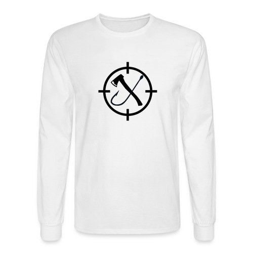 Hooks&Triggers Logo - Men's Long Sleeve T-Shirt