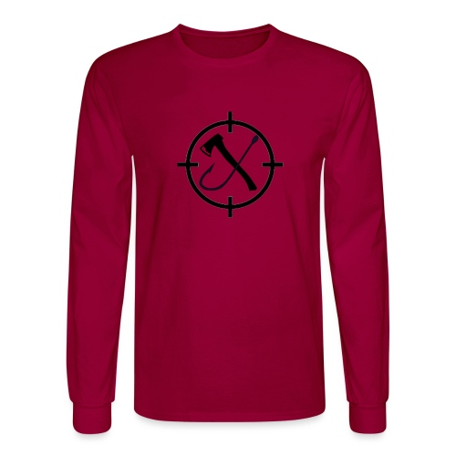 Hooks&Triggers Logo - Men's Long Sleeve T-Shirt